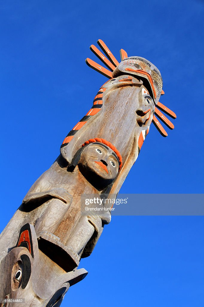 Tofino Totem : Stock Photo