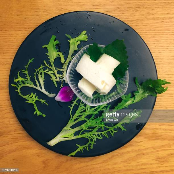tofu dish - liyao xie stock pictures, royalty-free photos & images
