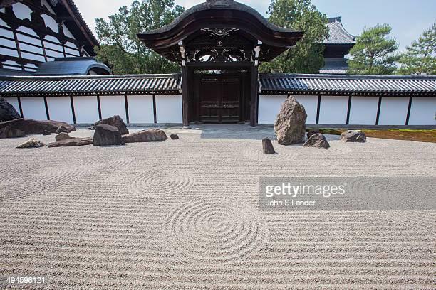 Tofukuji Hojo Garden - Rock gardens are normally built alongside Japanese temple hojo buildings. However, the gardens at Tofukuji's Hojo are unique...