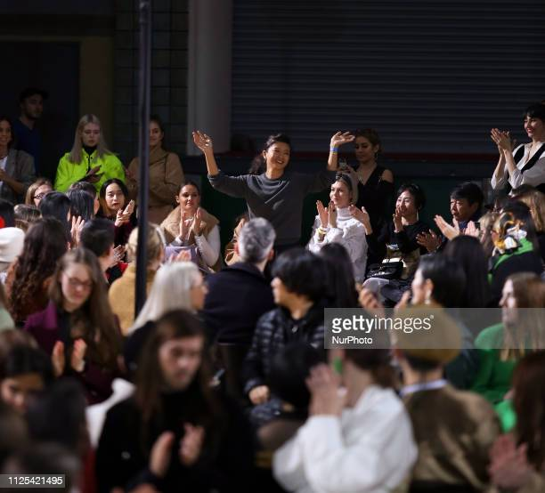 Toga during her show at the London Fashion Week February 2019 at the RIBA on February 16 2019 in London England