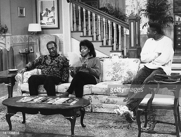 """Together Again and Again"""" Episode 1 -- Aired 10/6/88 -- Pictured: Bill Cosby as Dr. Heathcliff 'Cliff' Huxtable, Phylicia Rashad as Clair Hanks..."""