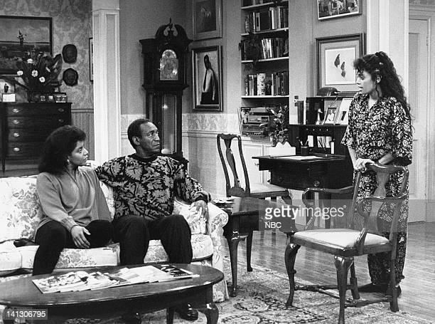 """Together Again and Again"""" Episode 1 -- Aired 10/6/88 -- Pictured: Phylicia Rashad as Clair Hanks Huxtable, Bill Cosby as Dr. Heathcliff 'Cliff'..."""