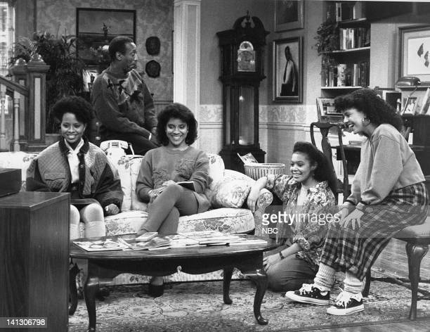 SHOW Together Again and Again Episode 1 Aired 10/6/88 Pictured Tempestt Bledsoe as Vanessa Huxtable Bill Cosby as Dr Heathcliff 'Cliff' Huxtable...