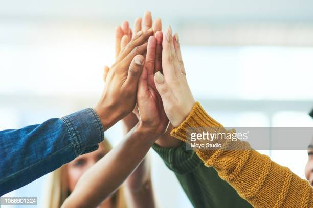 together, anything is possible - teamwork stock pictures, royalty-free photos & images