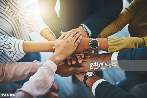 together as one is how we'll win - unity stock pictures, royalty-free photos & images