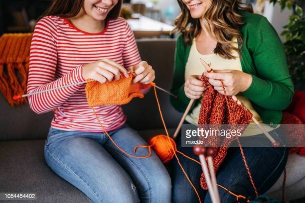 Together knitting