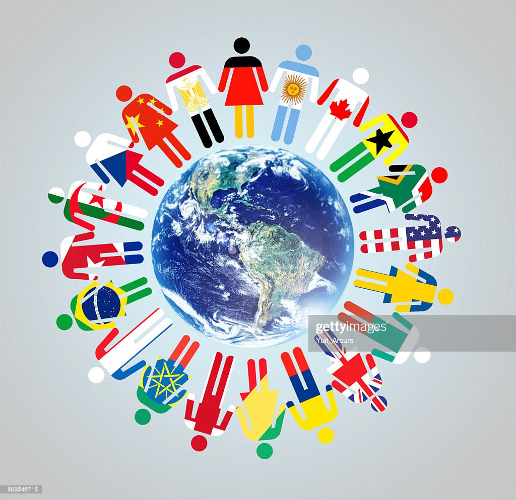 Together we make a difference! : Stock Photo