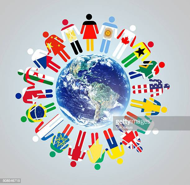 together we make a difference! - global village stock pictures, royalty-free photos & images