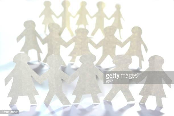 togetherness - direitos da mulher - fotografias e filmes do acervo