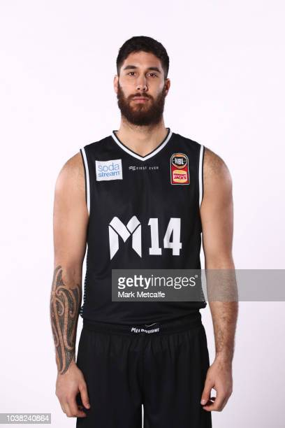 Tohi SmithMilner of Melbourne United poses during the 2018/19 NBL media day at Bendigo Stadium on September 21 2018 in Bendigo Australia