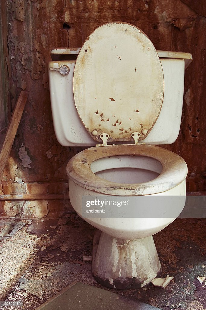 toilet grunge : Stock Photo