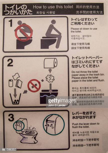 Toilet instructions are given in several languages Japan makes some of the world's most sophisticated toilets Japanese toilets took a giant leap into...