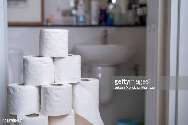toilet paper - kitchen paper stock pictures, royalty-free photos & images