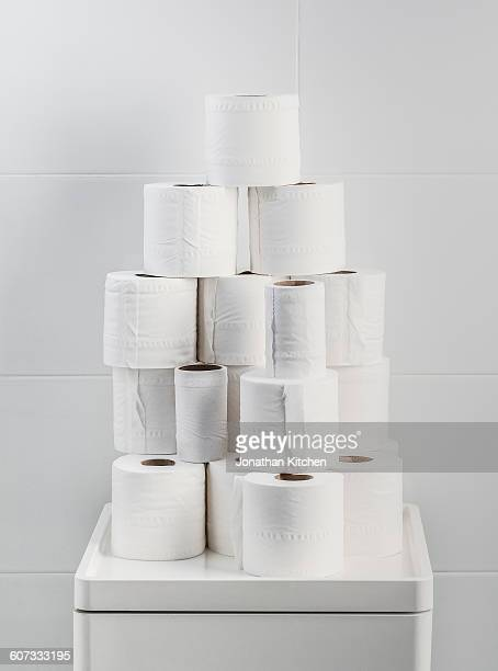 Toilet roll stack 1
