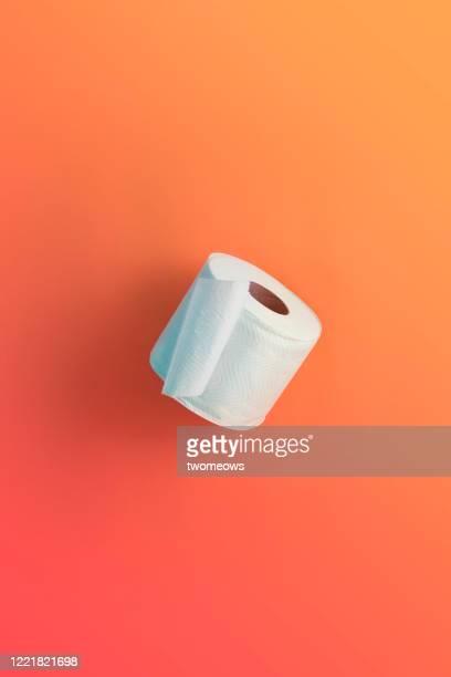 toilet roll still life image. - トイレットペーパー ストックフォトと画像