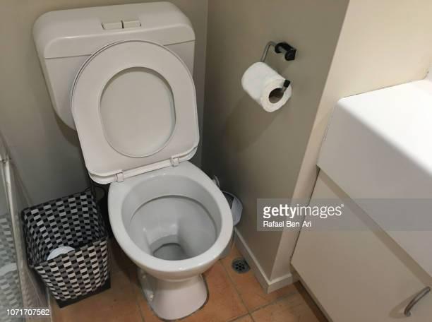 Toilet Room with Flush Toilet