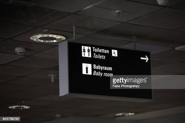 Toilet Sign In German