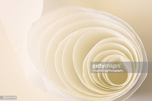 トイレティッシュペーパー紙ロール丸型