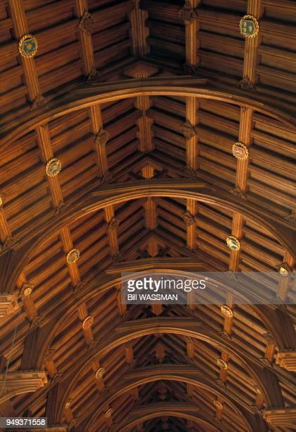 Toit du réfectoire de la cathédrale de Chester RoyaumeUni