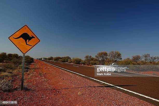 Tokai Challenger of Tokai University Japan races in the Challenger Class during day three of the 2015 World Solar Challenge on October 20, 2015...