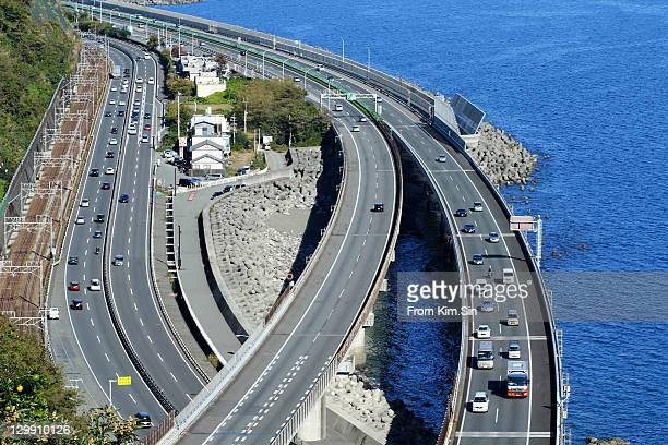 tokaido line highway - tokai region stock pictures, royalty-free photos & images