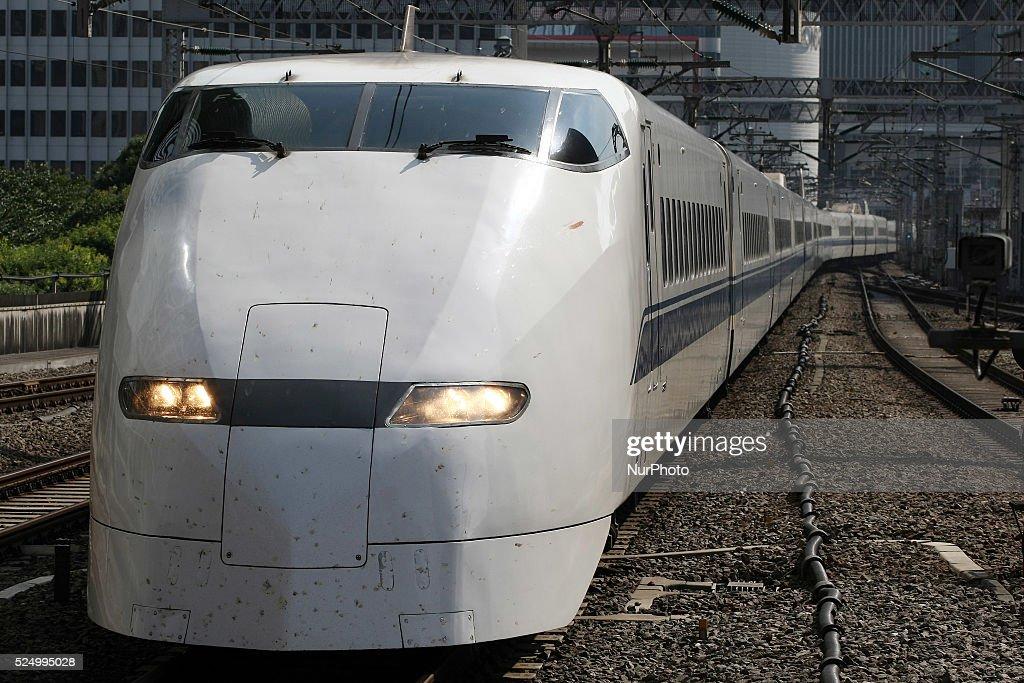 J Rtokai's Tokaido Shinkansen Bullet Trains : News Photo