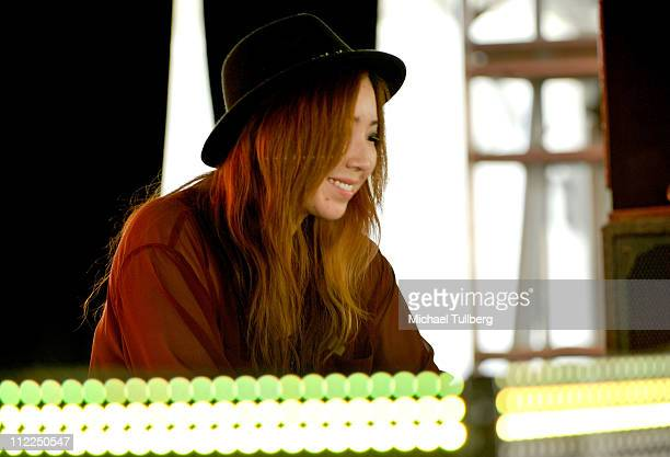 TOKiMONSTA aka Jennifer Lee performs during Day 1 of the Coachella Valley Music Arts Festival 2011 held at the Empire Polo Club on April 15 2011 in...
