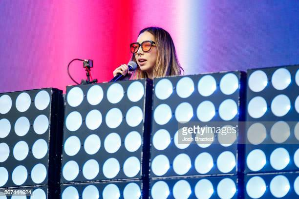 Tokimonsta performs at the Voodoo Music Arts Experience at City Park on October 27 2017 in New Orleans Louisiana