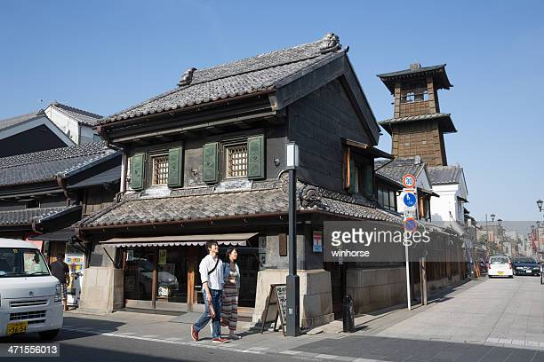 tokinokane in kawagoe, japan - saitama prefecture stock pictures, royalty-free photos & images