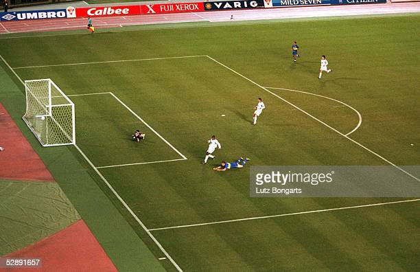 WELTPOKAL 2000 Tokio BOCA JUNIORS REAL MADRID 21 TOR zum 10 durch Martin PALERMO/JUNIORS