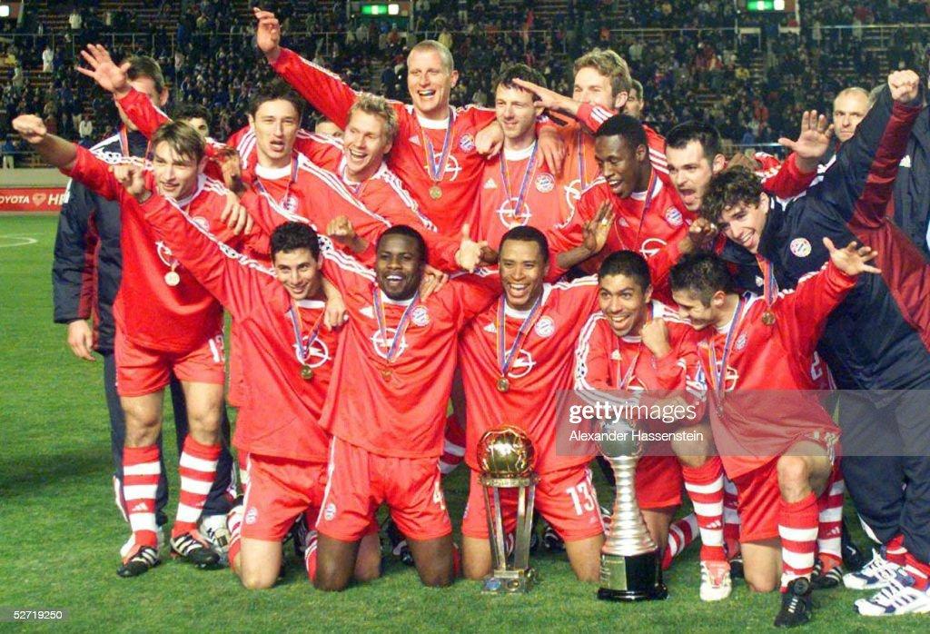 FUSSBALL: FIFA WELTPOKAL FINALE 2001, FC BAYERN MUENCHEN - BOCA JUNIORS 1:0; : ニュース写真