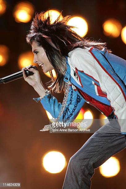 Tokio Hotel during 'Fete de la Musique' Live on 'France 2' NRJ at Hippodrome D'Auteuil in Paris France