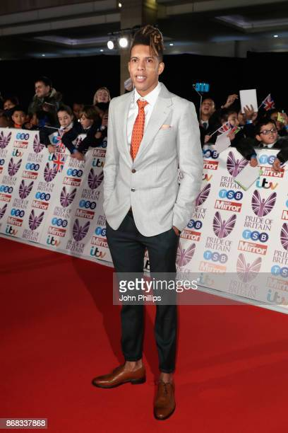 Tokio Myers attends the Pride Of Britain Awards at Grosvenor House on October 30 2017 in London England