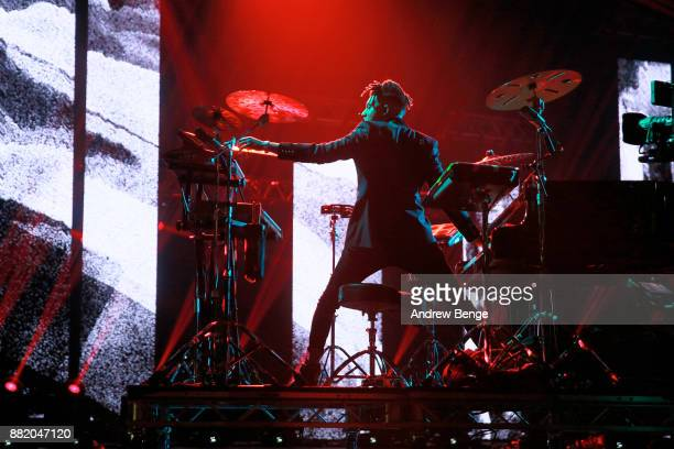 Tokio Myers performs on stage at the MOBO Awards at First Direct Arena Leeds on November 29 2017 in Leeds England