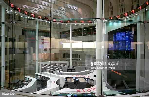 Tokio Stock Exchange. Tokio, Japan