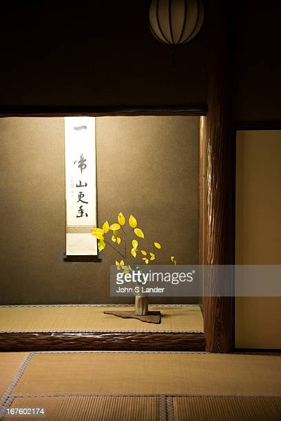 Tokonoma and Ikebana at Daitokuji the head temple of the Rinzai sect's school within Japanese Zen Buddhism and is considered one of the best places...