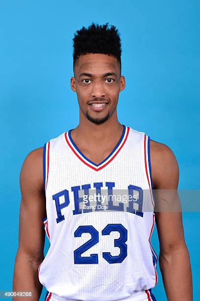 Tokoto of the Philadelphia 76ers poses for a photo during media day on September 28 2015 in Galloway New Jersey NOTE TO USER User expressly...