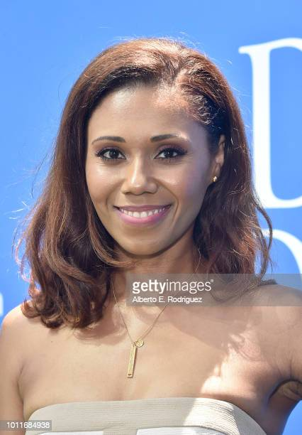 Toks Olagundoye attends the premiere of LD Entertainment's 'Dog Days' at Westfield Century City on August 5 2018 in Century City California
