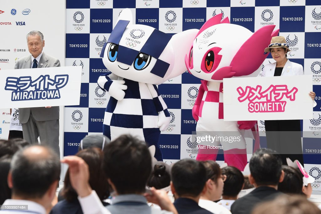 Tokyo 2020 Mascots Make First Appearance