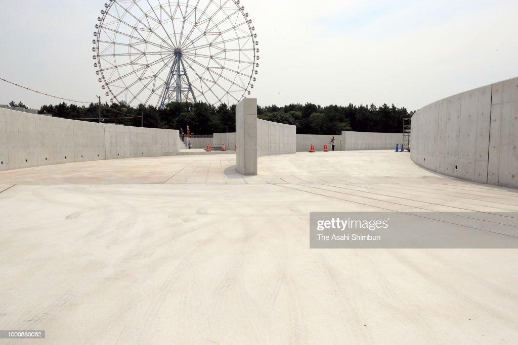 Tokyo 2020 Canoe Slalom Venue Construction Continues
