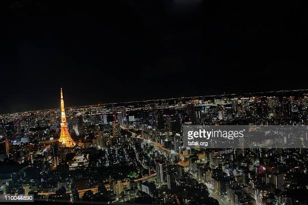 Tokyo 360 @ night from Roppongi Hills