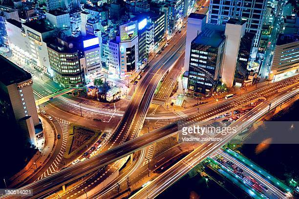 Tokyo, Akasaka  aerial view