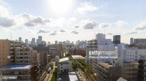 tokyo apartments residential area - 住宅地 ストックフォトと画像
