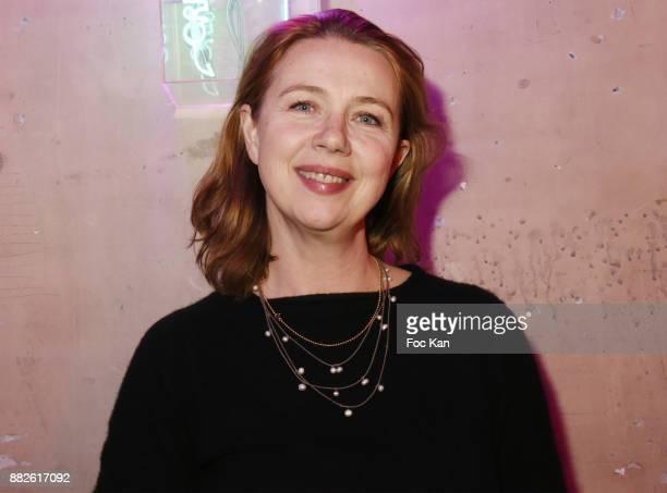 Tokyo Art Club director Katia Raymondaud attends Nektart Wine Party at Palais de Tokyo Art Club on November 29 2017 in Paris France