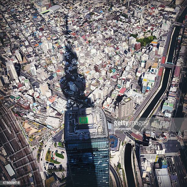 Tokyo as seen from the Sky Tree