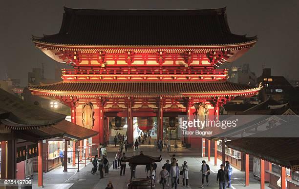 Tokyo, Asakusa, Sensoji buddhist temple, Hozo-mon Gate,