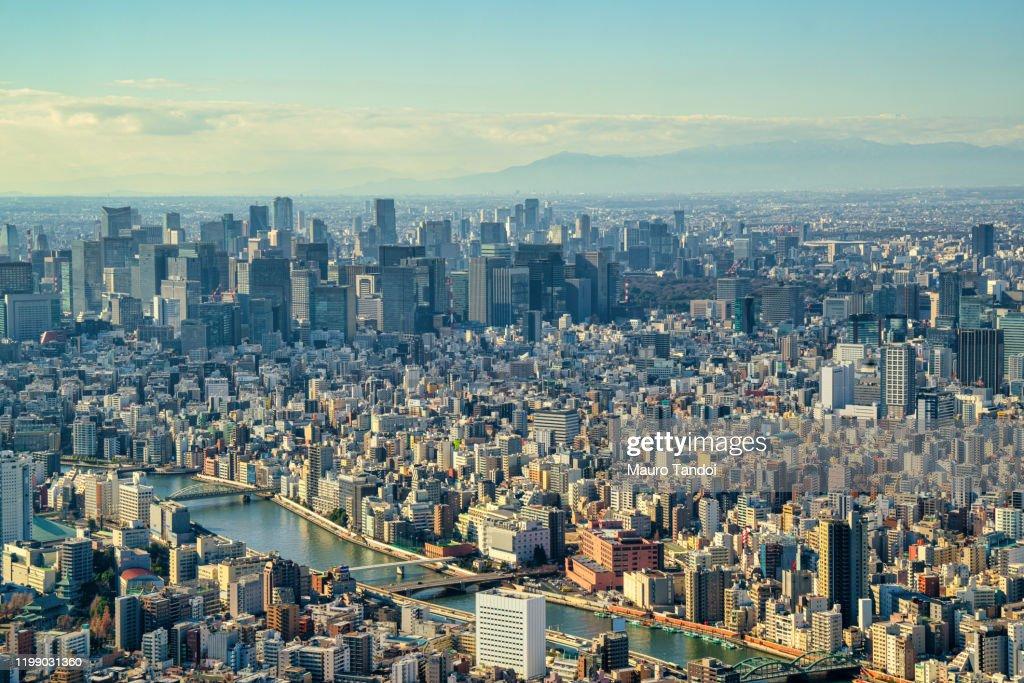 Tokyo at dusk : Stock Photo