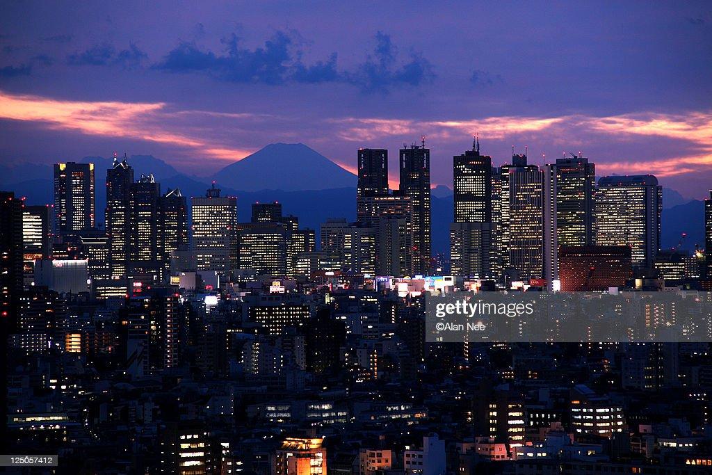 Tokyo at night : Foto de stock