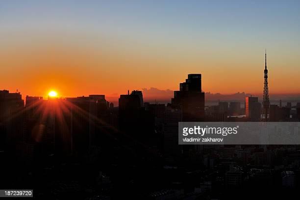 Tokyo at sunrise