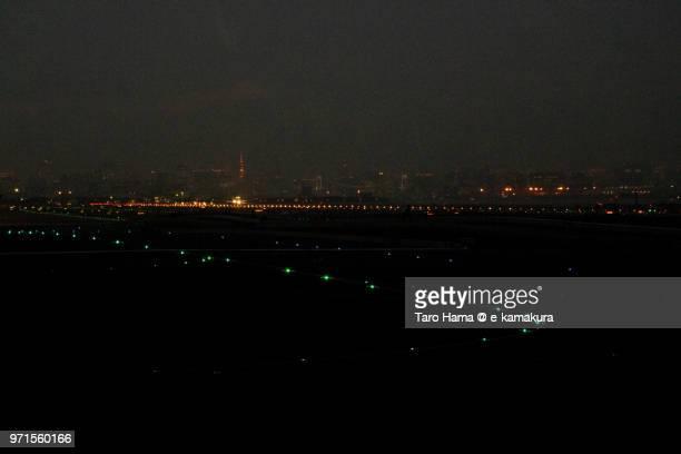 Tokyo Bay and Tokyo Haneda International Airport